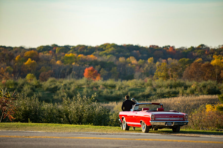 The Travel Wisconsin Ultimate Fall Drive Showdown lets people vote for their favorite fall drive.